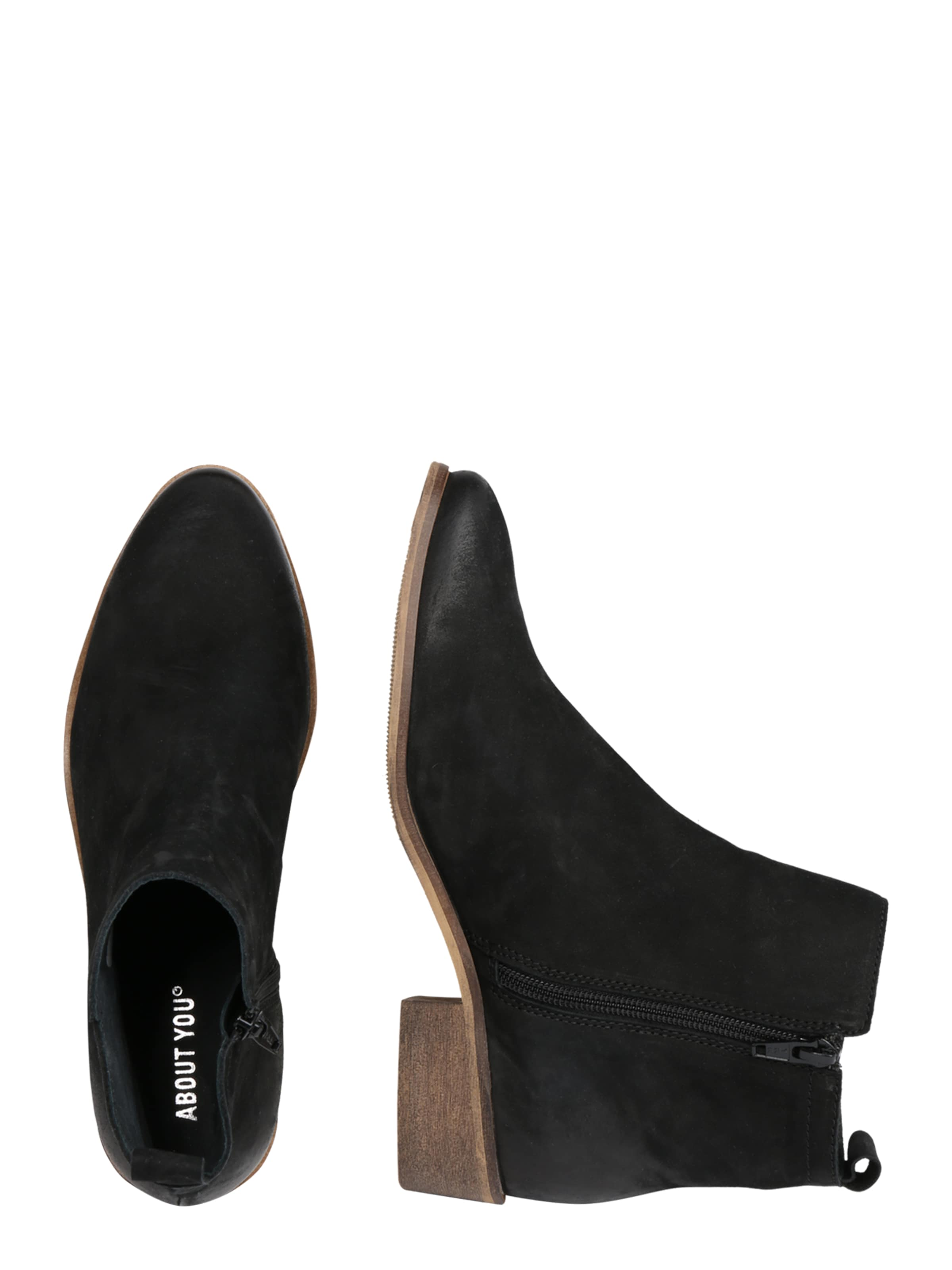 'asmin' You Schwarz Stiefelette About In b6f7Ygyv