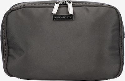 Roncato Kulturbeutel 'Start' in beige / schwarz, Produktansicht