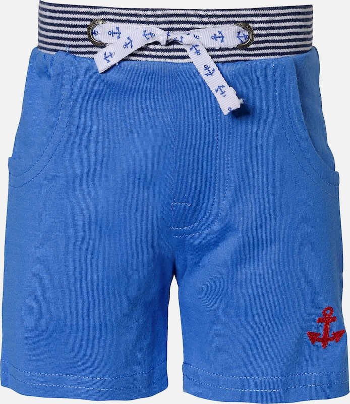 SALT AND PEPPER Sweatshorts in blau: Frontalansicht