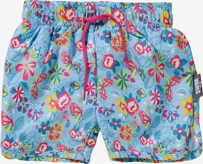 STERNTALER Badeshorts 'UV-Schutz 50+' in blau / mischfarben, Produktansicht