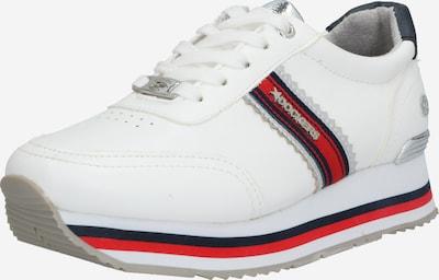 Dockers by Gerli Sneakers '618' in rot / weiß, Produktansicht