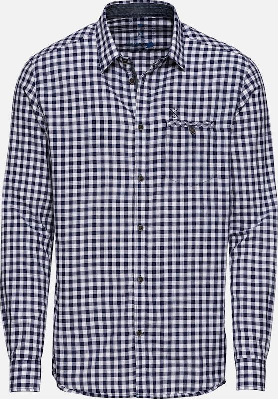 Vichy Shirt' Bleu Inject Tom Tailor Chemise 'floyd En byIYfvg76