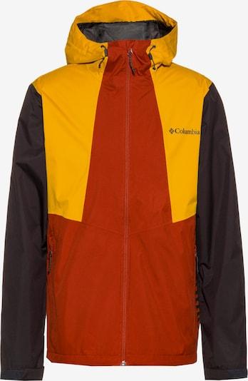COLUMBIA Jacke 'Inner Limits II' in gelb / dunkelorange / schwarz, Produktansicht
