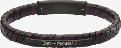 Emporio Armani Armband in braun / schwarz, Produktansicht