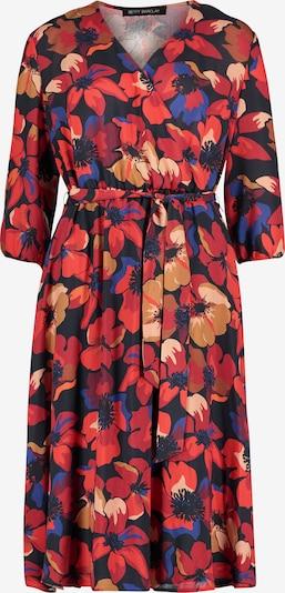 Betty Barclay Kleid in blau / nachtblau / hellbraun / rot, Produktansicht