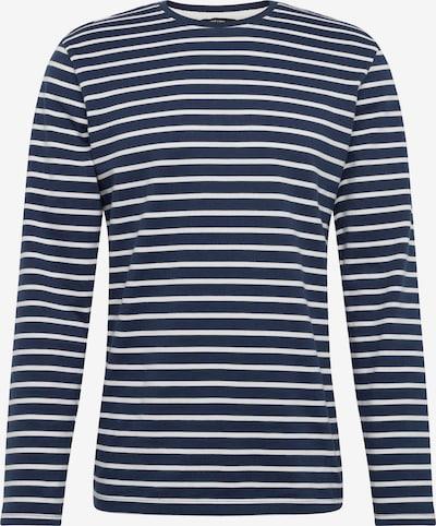 Only & Sons Тениска в тъмносиньо / бяло, Преглед на продукта