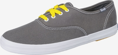 KEDS Sneakers 'CHAMPION CVO CORE CANVAS' in gelb / dunkelgrau, Produktansicht