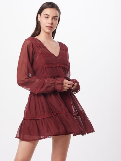 Free People Kleid 'BERLIN' in rot, Modelansicht
