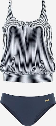 LASCANA Tankini in de kleur Navy / Wit, Productweergave
