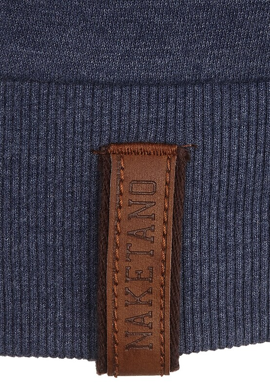 Naketano Naketano Naketano Sweatshirt in blaumeliert  Freizeit, schlank, schlank 22c8fb
