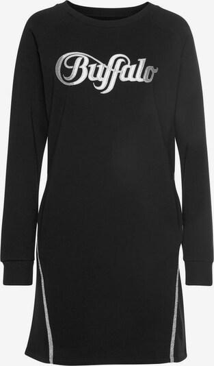 BUFFALO Kleid in schwarz / silber, Produktansicht
