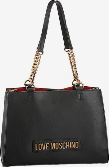Love Moschino Schultertasche in schwarz, Produktansicht