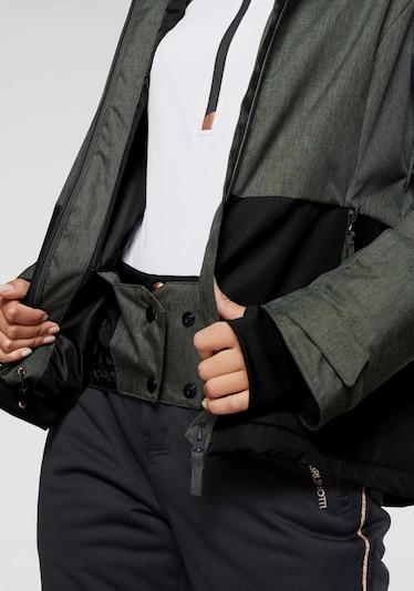 BRUNOTTI Jacke 'Sarah S' in khaki / schwarz, Produktansicht