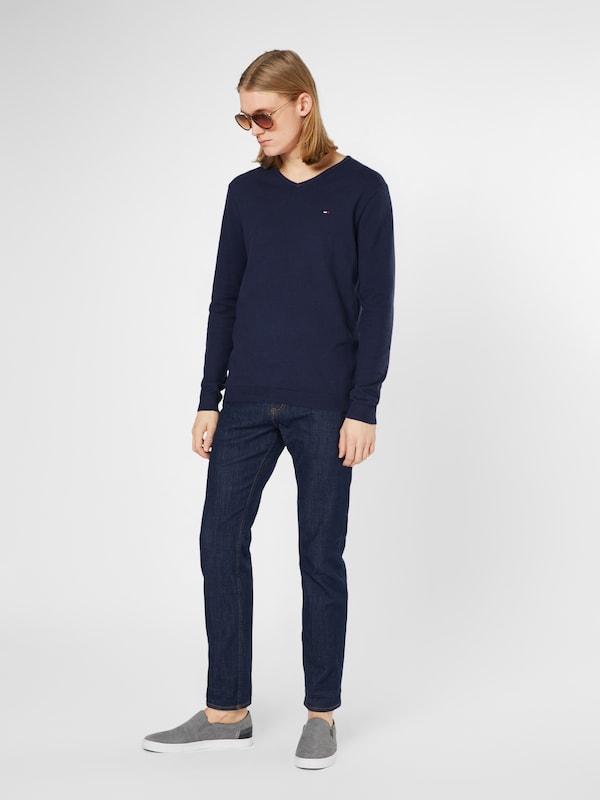 over Bleu Foncé 'jm' Pull Tommy Jeans En 7bf6gy