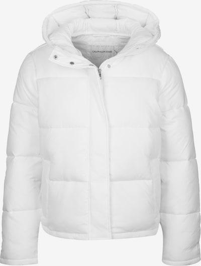 Calvin Klein Jeans Winterjacke ' Padded Puffer with Logo Binding W ' in weiß, Produktansicht