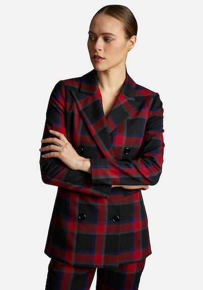 Nicowa Blazer 'BEGONIWA' in rot / schwarz, Modelansicht
