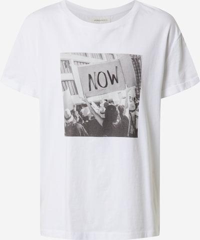 ARMEDANGELS Shirt 'NAALIN' in schwarz / weiß, Produktansicht