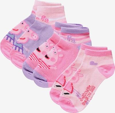 Peppa Pig Socken in helllila / pink / hellpink, Produktansicht