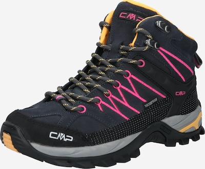 CMP Škornji 'Rigel Mid' | antracit / roza / črna barva, Prikaz izdelka