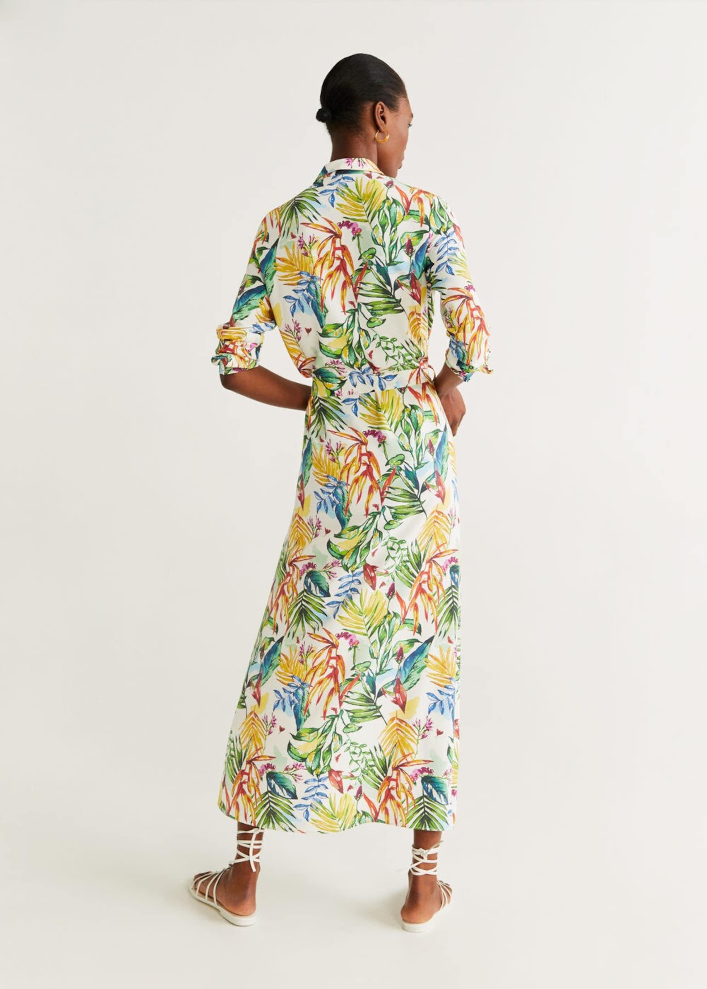 MischfarbenWeiß 'gemma In Mango a' Kleid 0ZwOP8XkNn