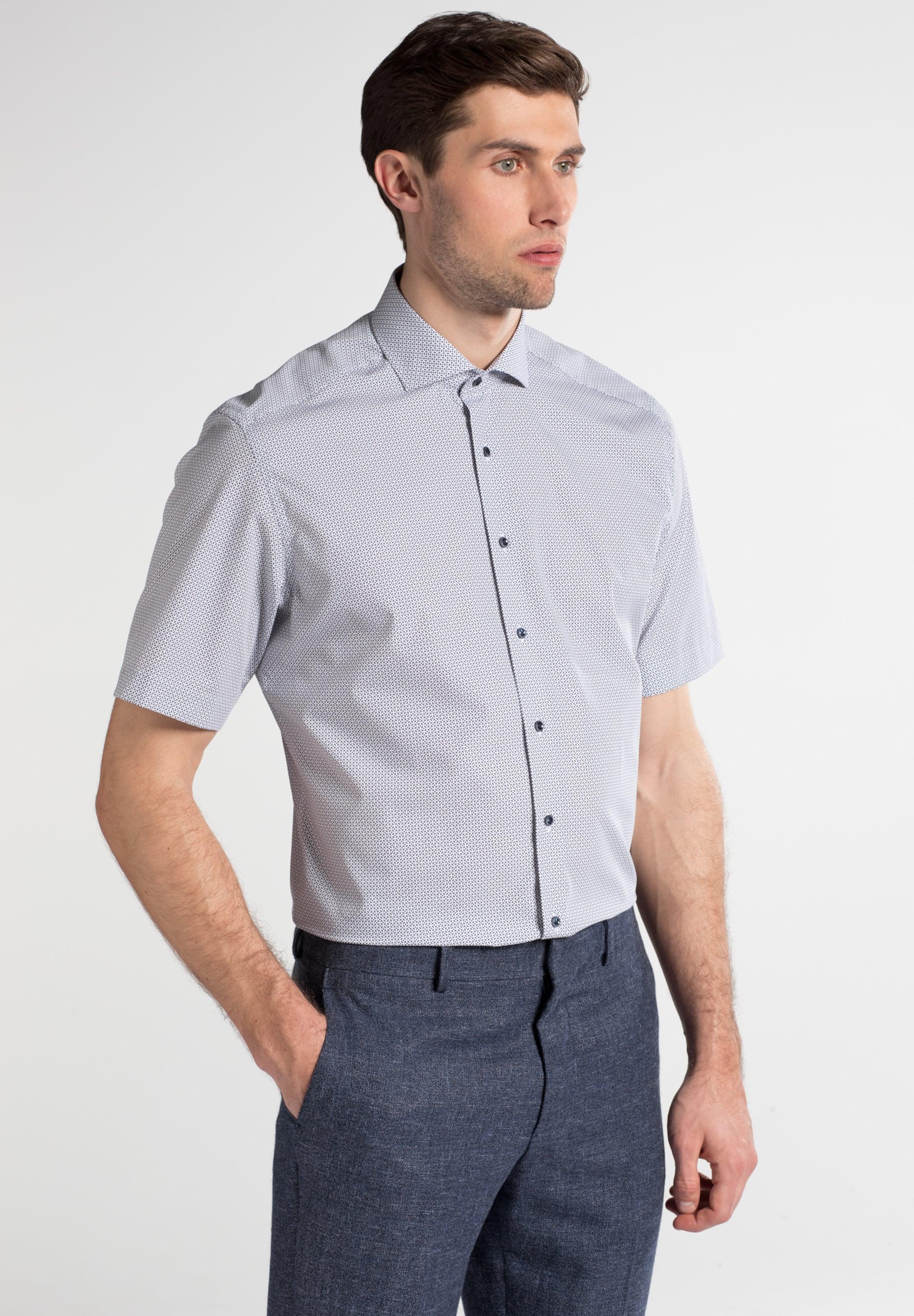 In BlauHellbraun Hemd Eterna Hemd In BlauHellbraun Eterna Hemd Eterna Weiß Weiß QhsCrdtx