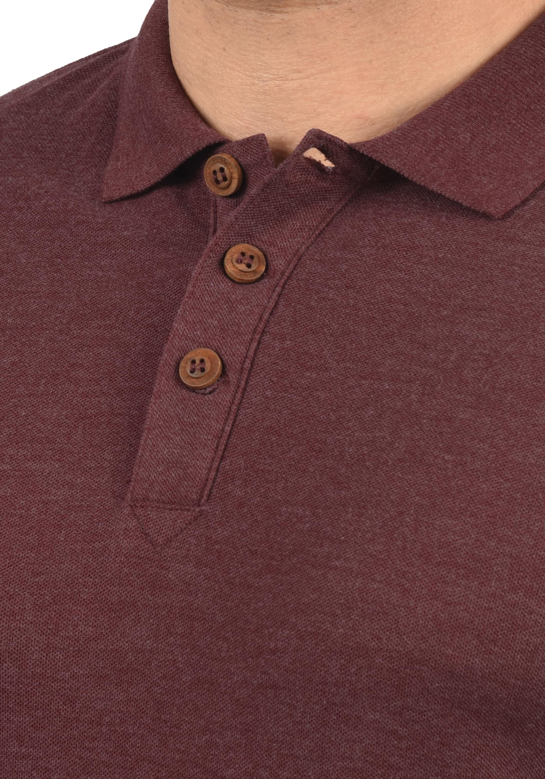 solid Poloshirt Weinrot In In Poloshirt solid 8O0wPXnk