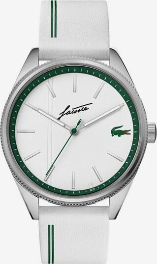 LACOSTE Uhr in grün / weiß, Produktansicht
