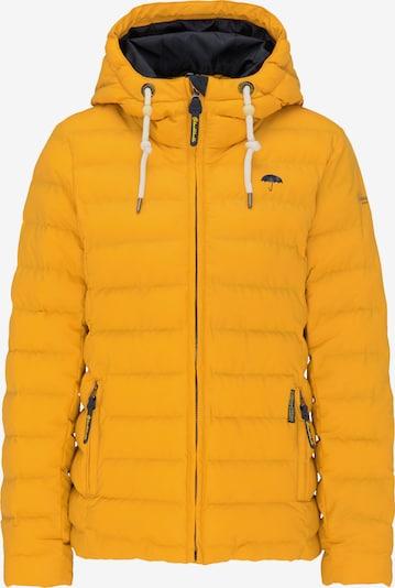 Schmuddelwedda Winterjas in de kleur Geel, Productweergave