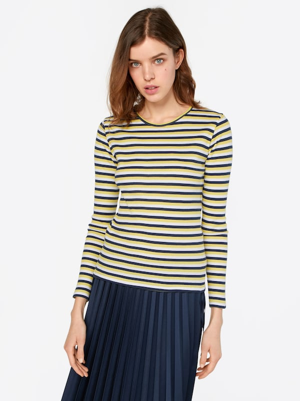En BleuJaune Point shirt Sisters T Blanc uTlJc3F51K