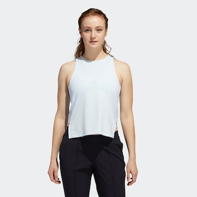 ADIDAS PERFORMANCE Sporttop in opal: Frontalansicht