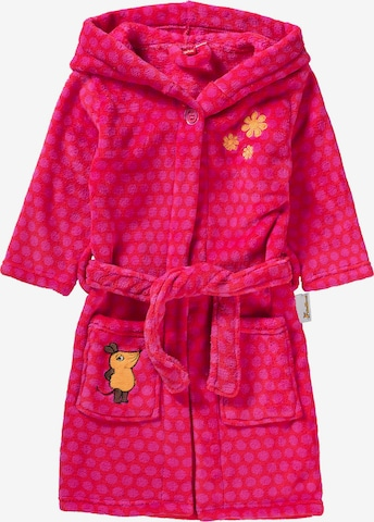 PLAYSHOES Bathrobe 'MAUS' in Pink