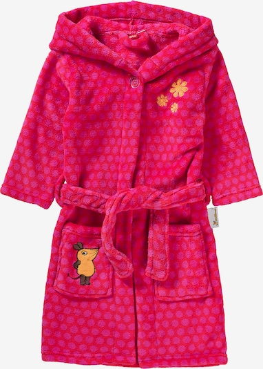 PLAYSHOES Bademantel 'MAUS' in pink, Produktansicht