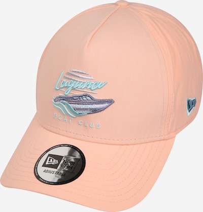 NEW ERA Cap 'NEW ERA BEACH TRUCKER' in blau / apricot, Produktansicht