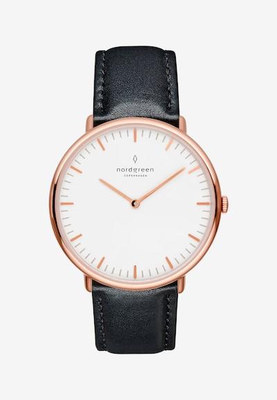 Nordgreen Armbanduhr in rosegold / schwarz, Produktansicht
