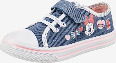 DISNEY Sneaker 'Minnie Mouse' in blue denim / mischfarben, Produktansicht