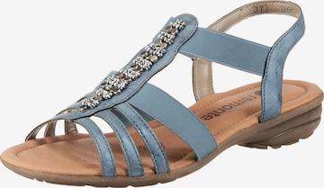 REMONTE Sandale in Blau