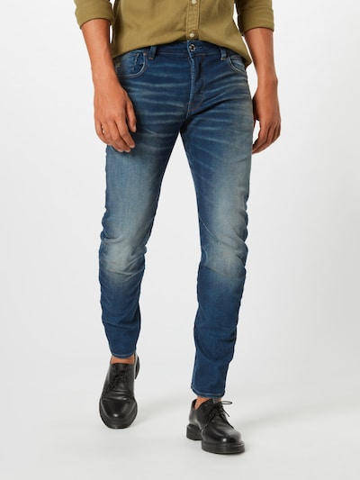 G-Star RAW Jeans 'Arc 3D' in blue denim, Modelansicht