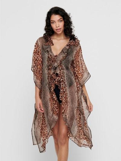 ONLY Vêtement de plage en marron, Vue avec modèle