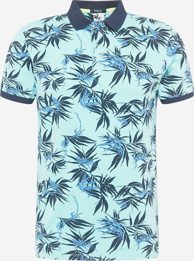 Hailys Men Shirt 'Mitch' in de kleur Navy / Hemelsblauw / Mintgroen, Productweergave