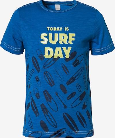 ESPRIT T-Shirt in blau / gelb / schwarz, Produktansicht