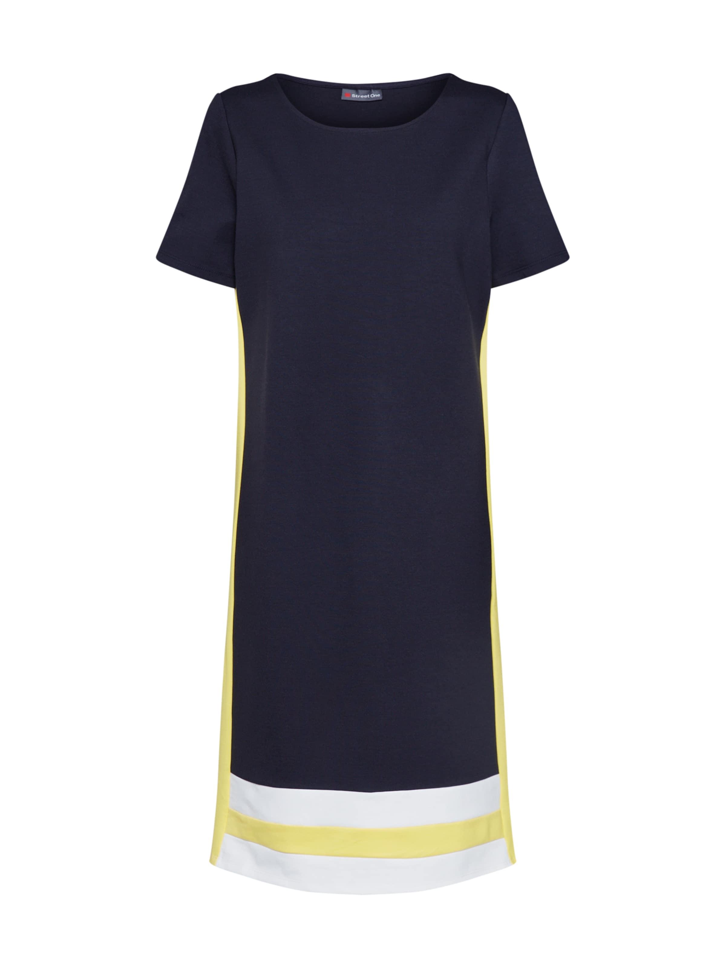 Blanc Robe Bleu Street One En MarineJaune qSVpjLUzMG