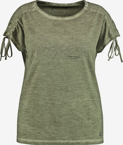 SAMOON T-Shirt in oliv, Produktansicht