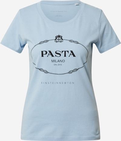 EINSTEIN & NEWTON Shirt 'Pasta T-Shirt' in hellblau / schwarz, Produktansicht