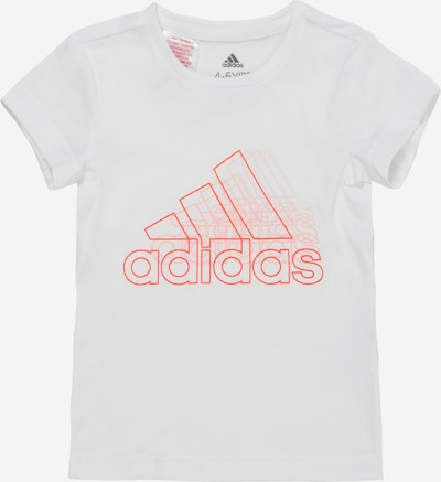 ADIDAS PERFORMANCE Functioneel shirt in de kleur Rood / Wit, Productweergave