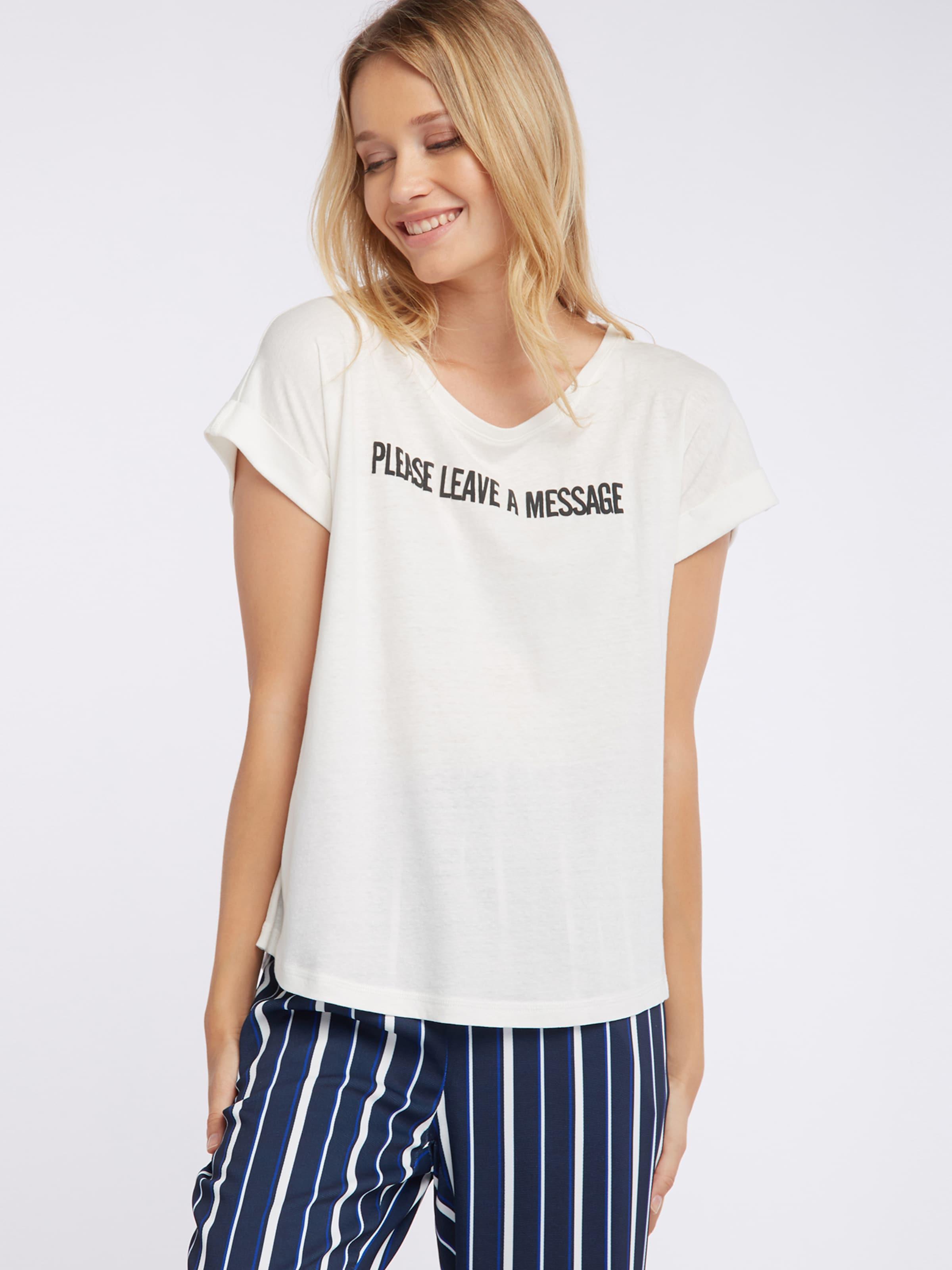 Weiß Broadway In Fashion 'potina' Nyc Shirt c4L3j5qAR