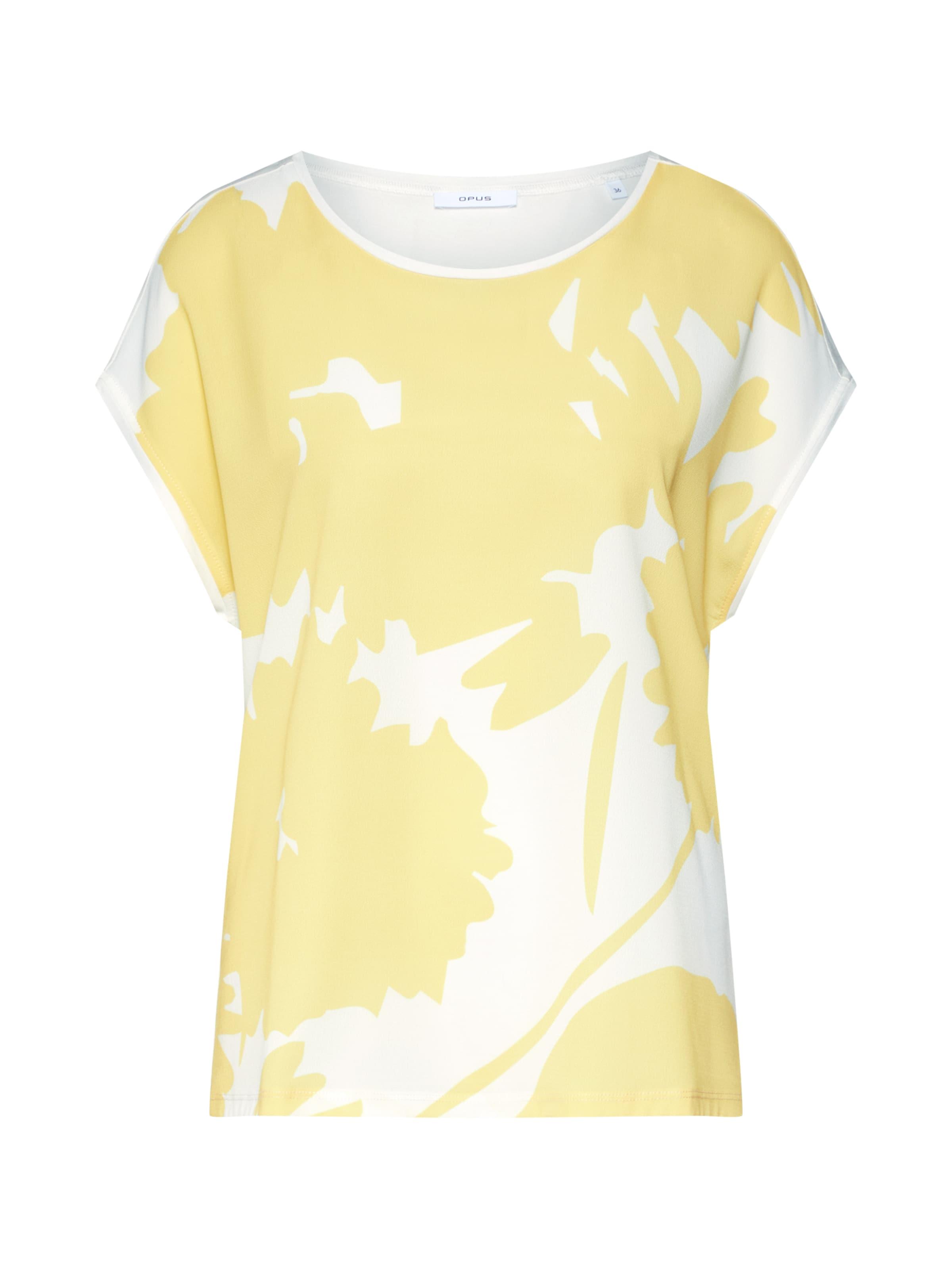 En Opus T BeigeJaune T shirt Opus shirt 0OvnmwyN8P