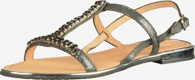 GEOX Sandalen in schwarzmeliert, Produktansicht