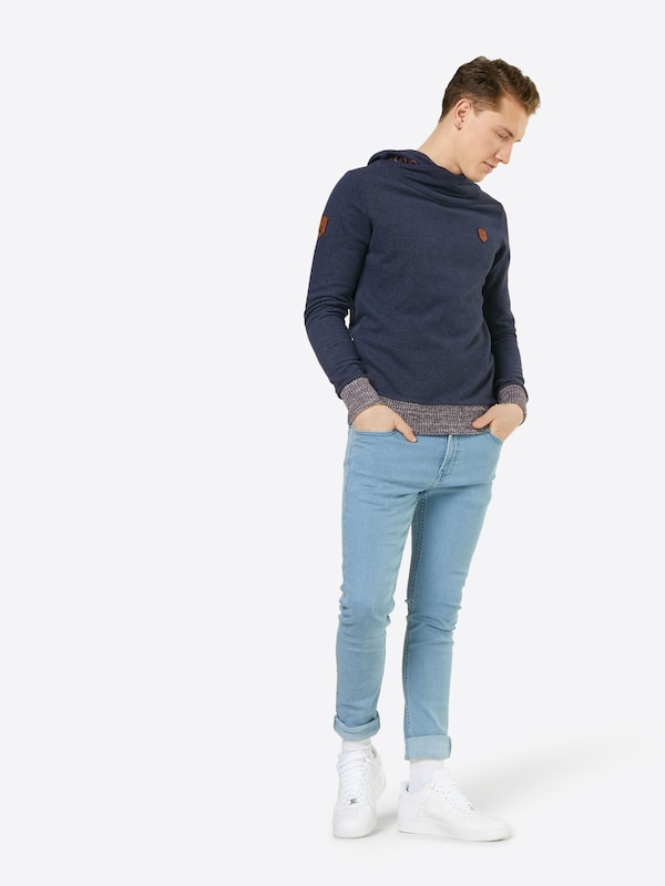 naketano Sweatshirt 'Super Pursuit Mode'