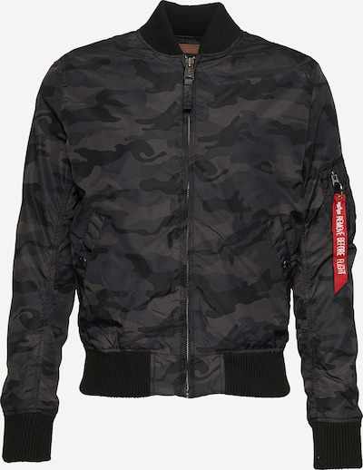 ALPHA INDUSTRIES Bomberjacke 'MA-1 TT' in schwarz, Produktansicht