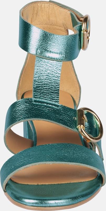 heine Sandalette im Metallic-Look